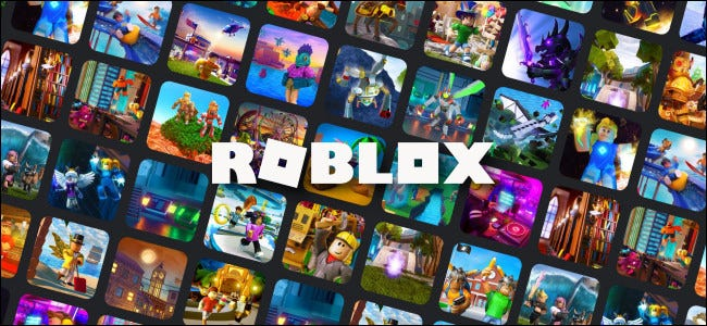 The Roblox logo and artwork