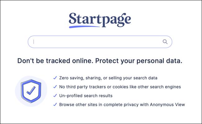 StartPage Home