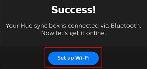 "Tap ""Set up Wi-Fi"""