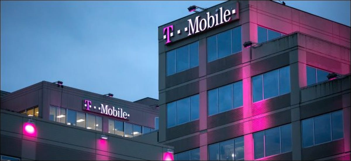 The T-Mobile headquarters in Bellevue, Washington.