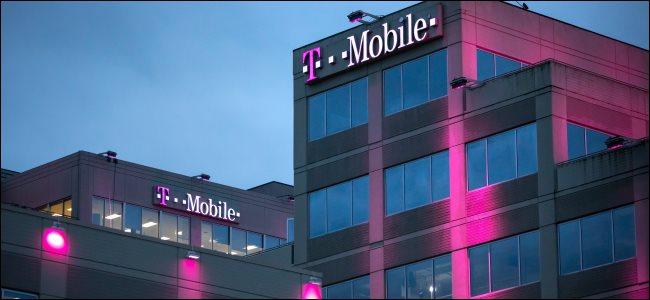 A sede da T-Mobile em Bellevue, Washington.