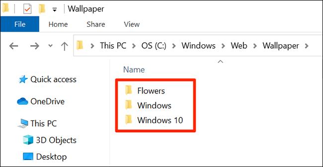 Windows 10 stock wallpapers