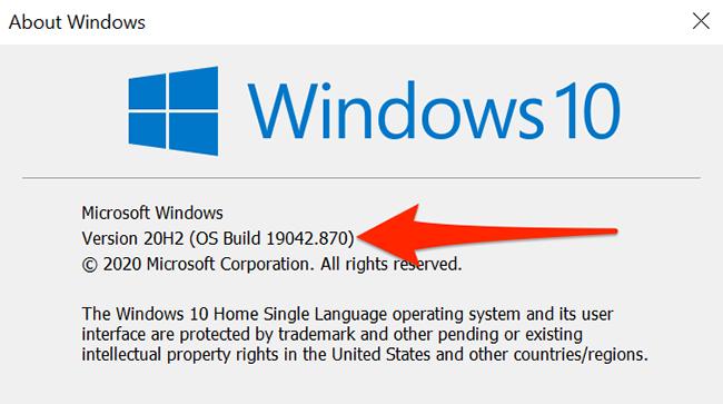 About Windows window