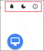Snapdrop options icons