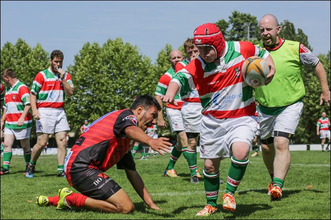 photo from mixed ability rugby world cup