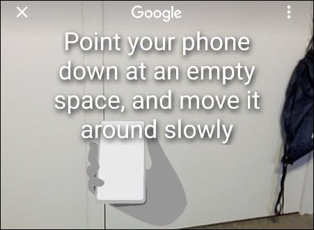 move phone to analyze space