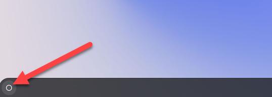 click the launcher icon