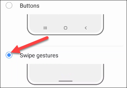 navigation bar choices