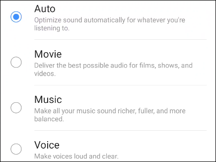 audio pofiles for dolby atmos