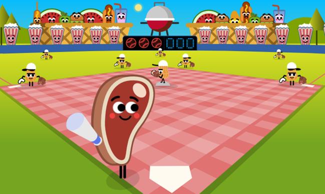 μπέιζμπολ doodle