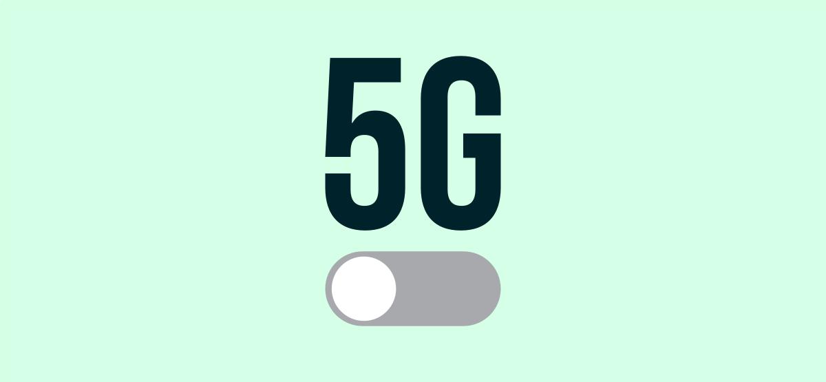 5g avec interrupteur à bascule