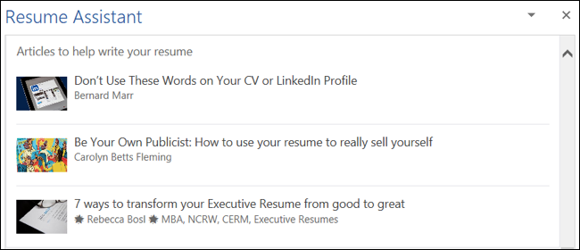 Helpful Articles from LinkedIn