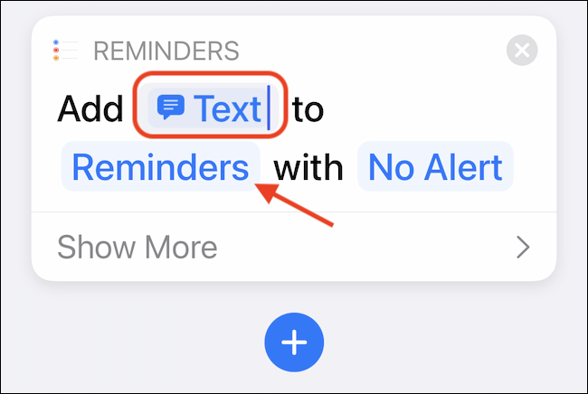 Select the Reminders button to customize the default Reminders list.