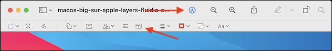 Select the Edit button, and then click the Resize button from the toolbar.