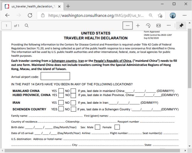 PDF без поддержки редактирования в Microsoft Edge