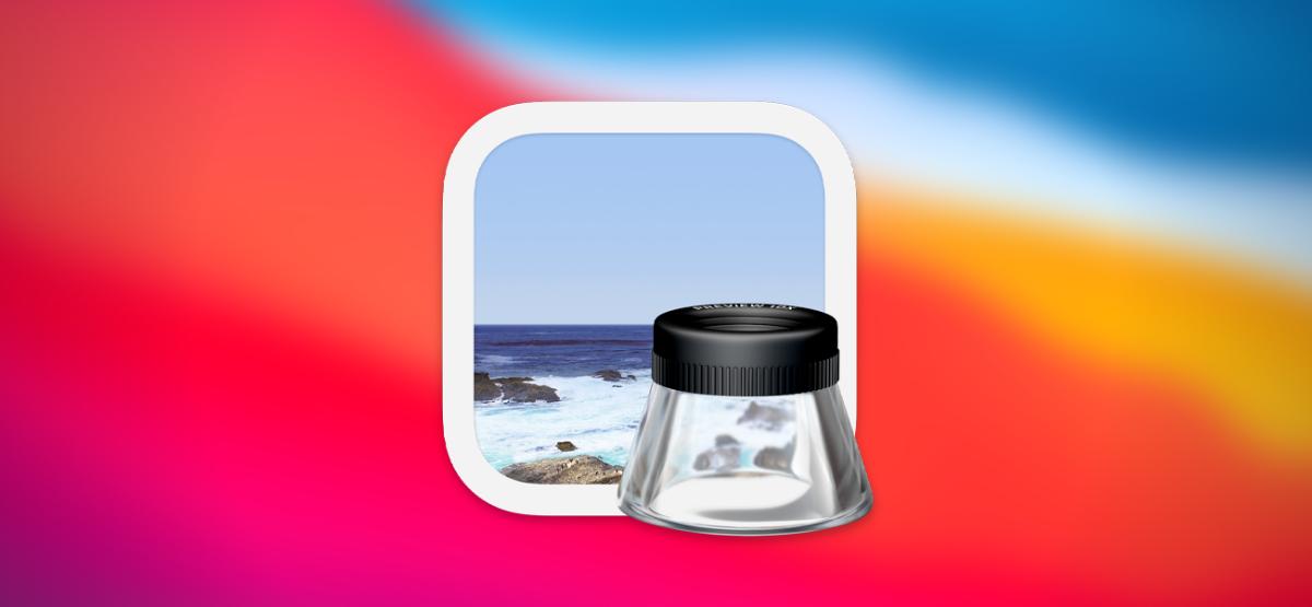 Preview on Mac macOS Big Sur Hero Icon