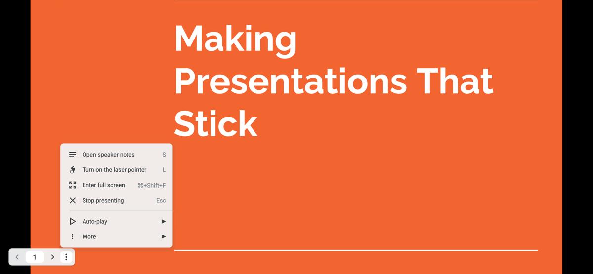 Обновленная панель инструментов Presenter в Google Slides