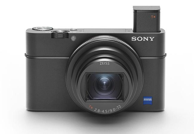 sony point and shoot camera