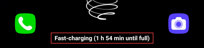 charging message