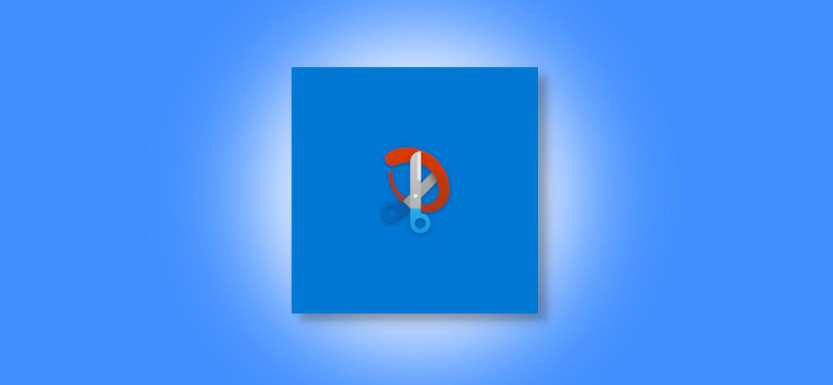 Snip & Sketch logo on Windows 10