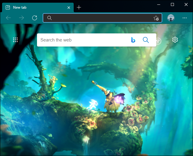 Themed Edge Browser