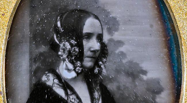 Ada Lovelace in an 1843 daguerreotype.
