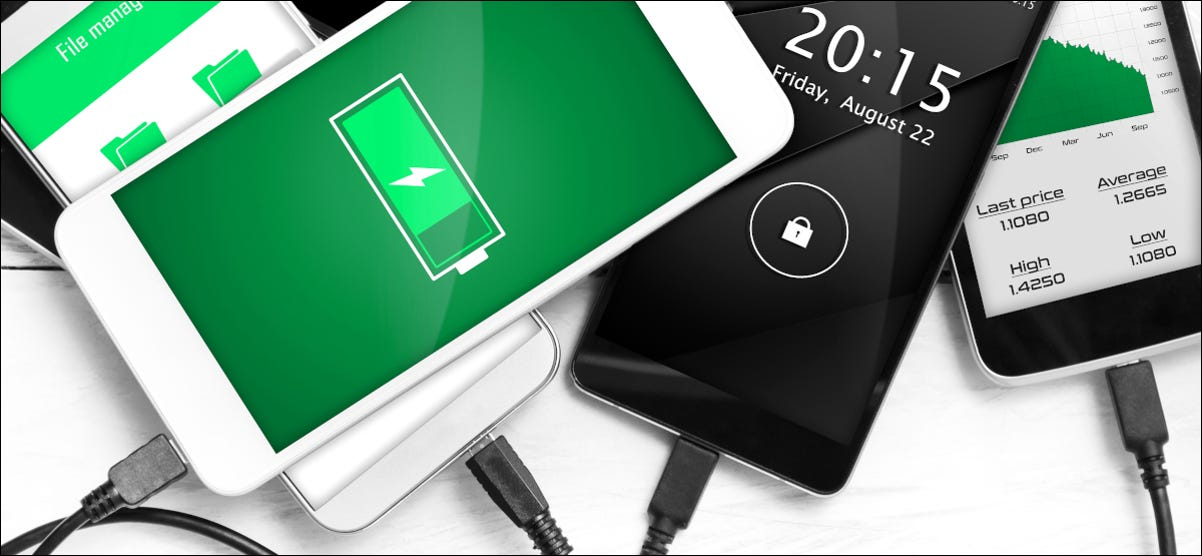 android phones charging
