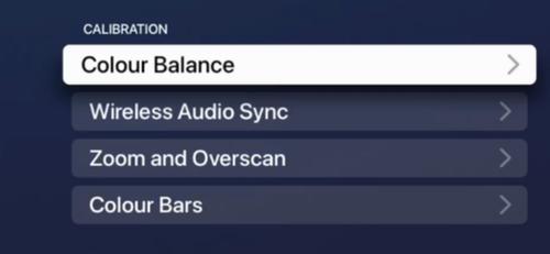 Select Color Balance