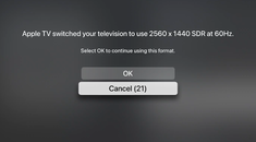 How to Change the Display Resolution on Apple TV