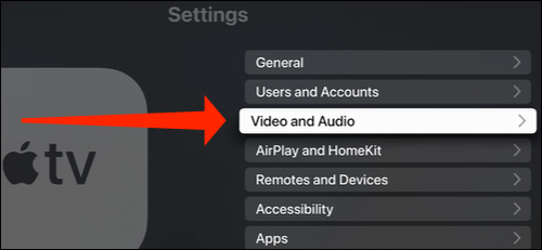 Select Video and Audio