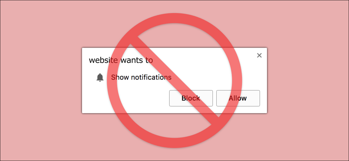 chrome notification pop up