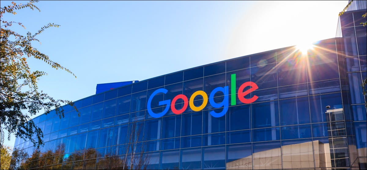 The Googleplex, Google's headquarters in Mountain View, California.