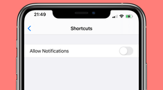 How to Disable Notifications for the Shortcuts App on iPhone