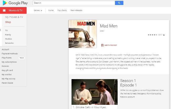 Mad Men on Google Play