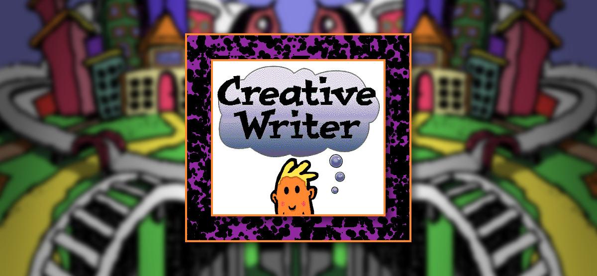 Microsoft Creative Writer Splash Screen