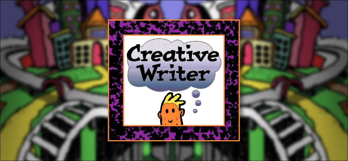 Microsoft Creative Writer splash screen