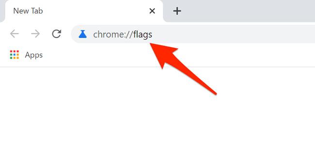 "Type ""chrome://flags"" into Chrome's address bar"