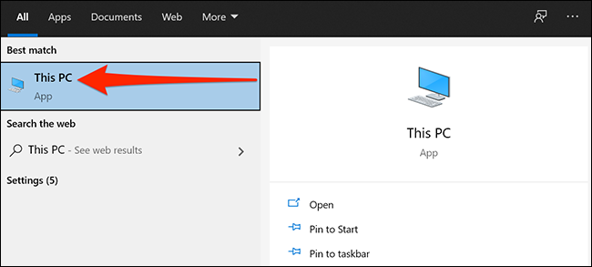 Start menu is displayed