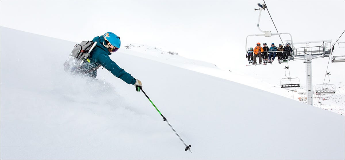preview image showing skier