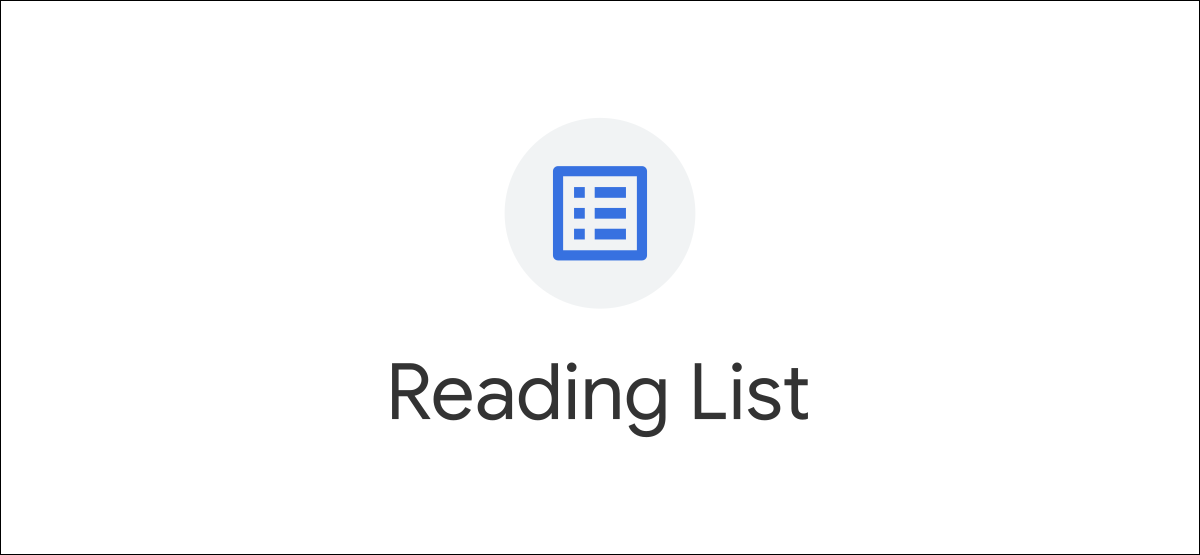 chrome reading list logo