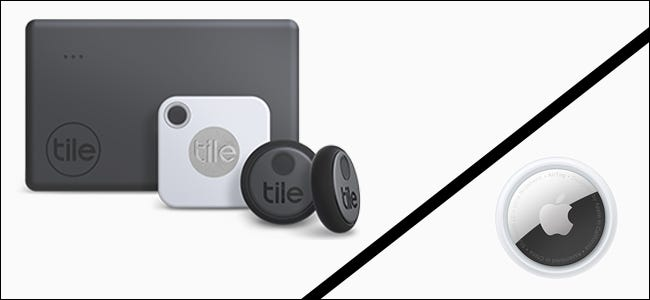 Tile family of products vs Apple AirTag