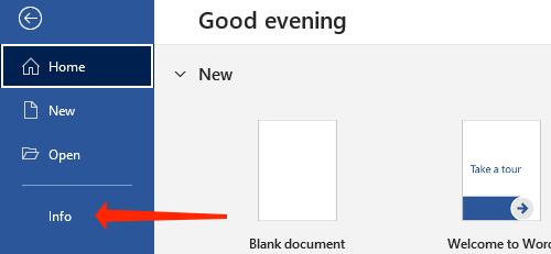 Select Info