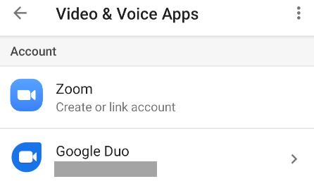 google duo already set up