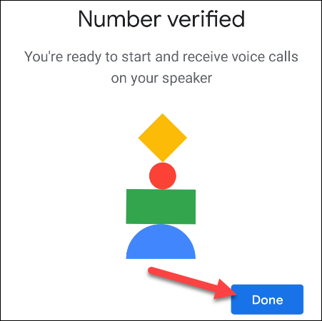 verified phone number