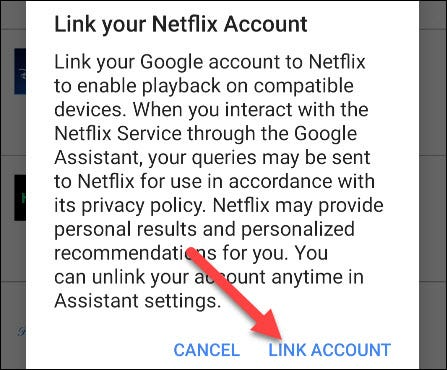 confirm link account