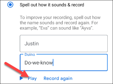 """tap """"Play"""" to hear the name pronounced"""