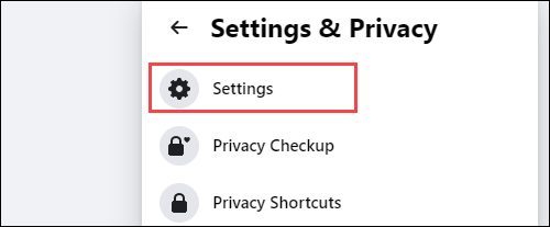 """Select """"Setting"""" from the next menu."""