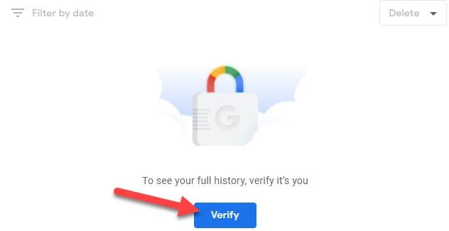 """Click the """"Verify"""" button."""