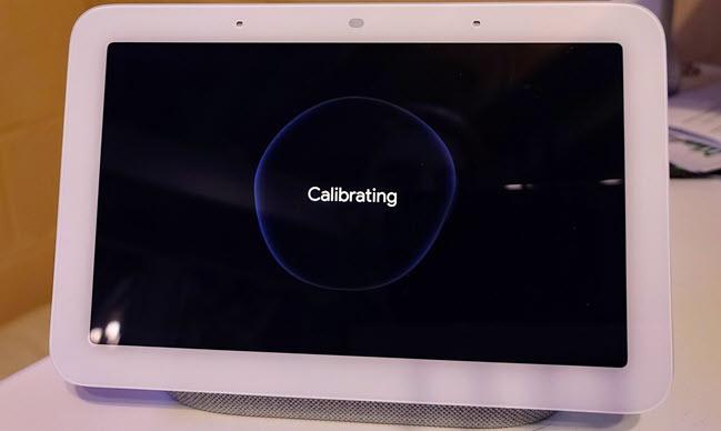 calibration screen