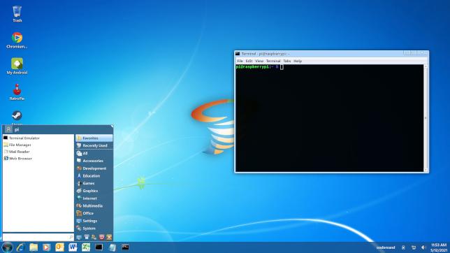 Thème Twister OS Windows 7